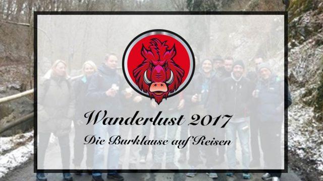 Die Burgfreunde auf Wanderung | 22. – 24.10.2017 | JETZT NOCH ANMELDEN